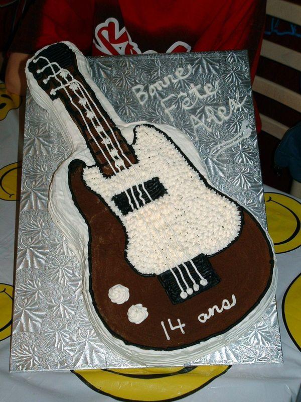 Guitare Alex 14 ans