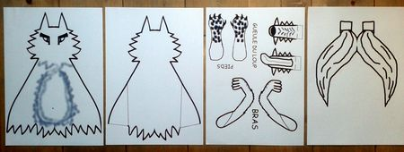 96_Personnages Animaux monstres_Le grand méchant loup (2)