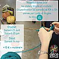 Initiation crochet et tricot