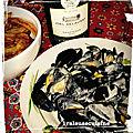 Moules sauce roquefort