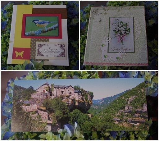cartes reçues