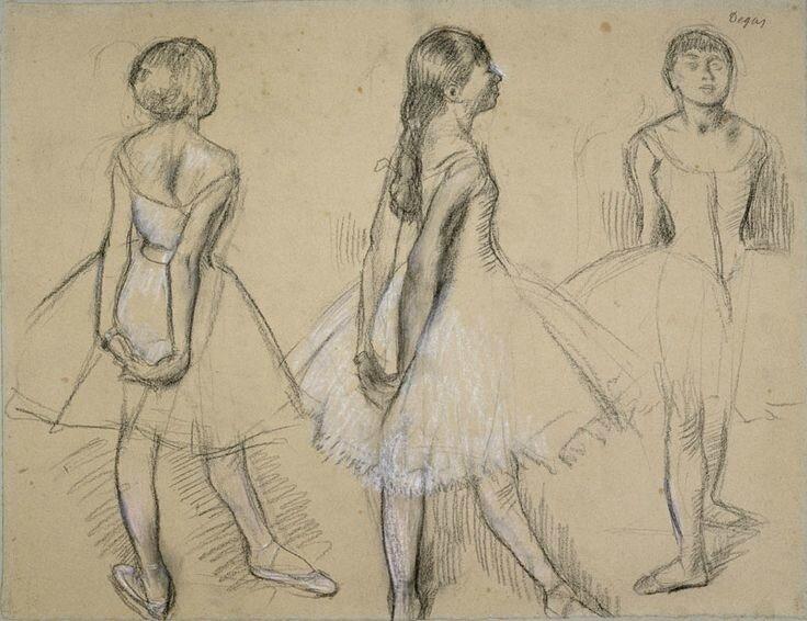 b97b3fee6f3f4de868a87d67519fbf8f--degas-drawings-line-drawings