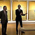 "Francis bacon's triptych ""three studies of lucian freud"" bought by elaine wynn"
