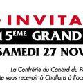 Conf. canard pays de challans - chapitre 27/11/2010