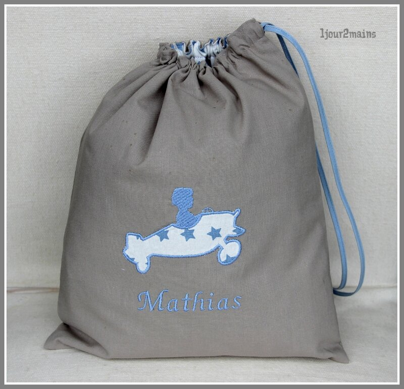 sac avion Mathias