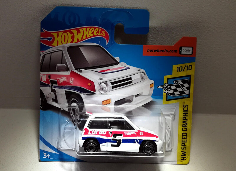 Honda City Turbo II de 1985 (Hotwheels)