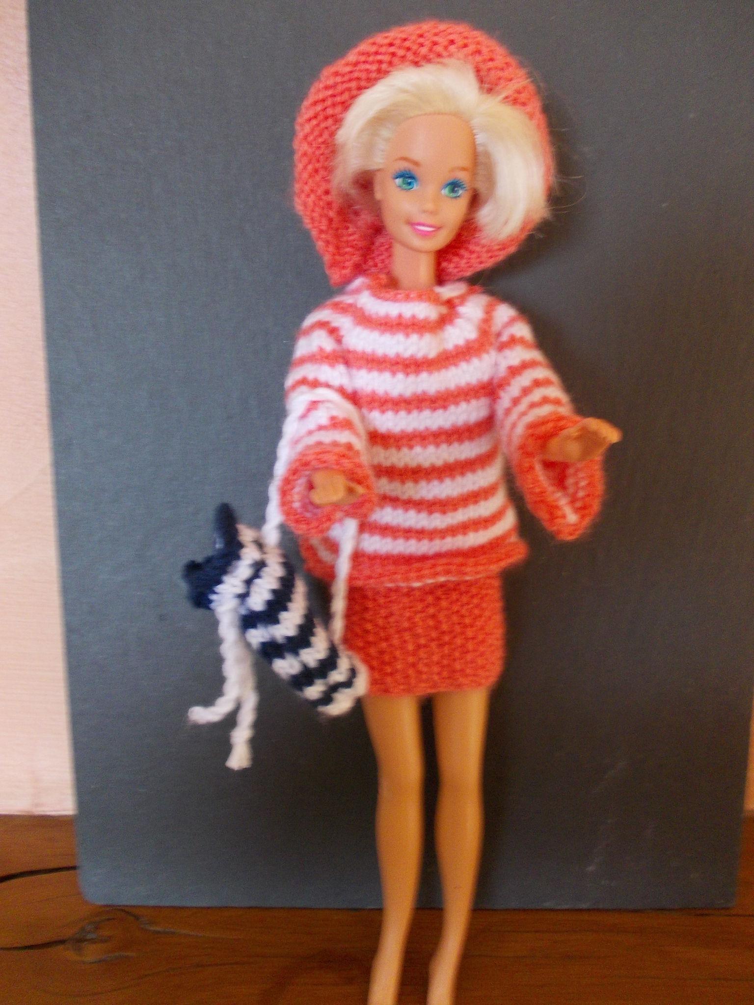 Barbie à la mer