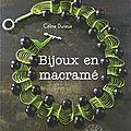 Bijoux en macramé Céline Durieux