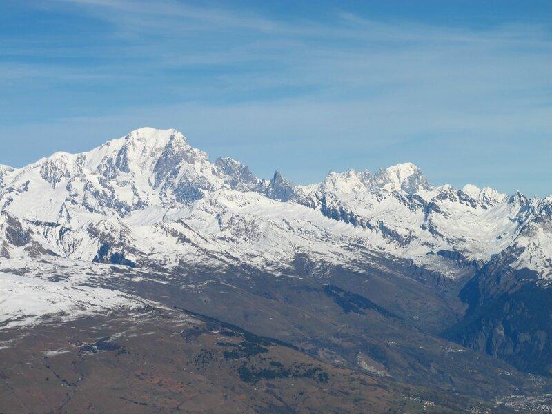 Mont Blanc, Mont Rose