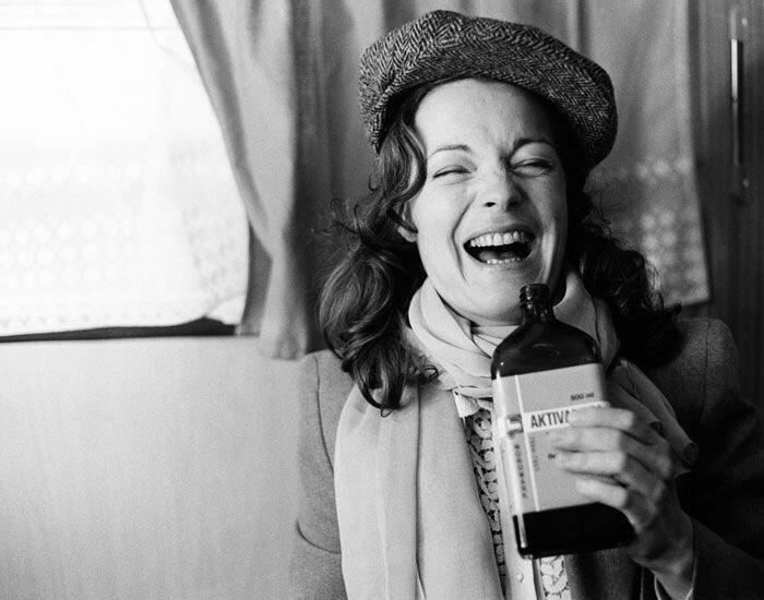Romy photographiée par Robert Lebeck en 1976
