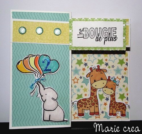 carte 2 ans charly