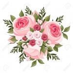 23241331-pink-roses-bouquet-vector-illustration