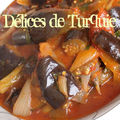 Aubergines à l'huile d'olive - zeytinyağlı patlıcan