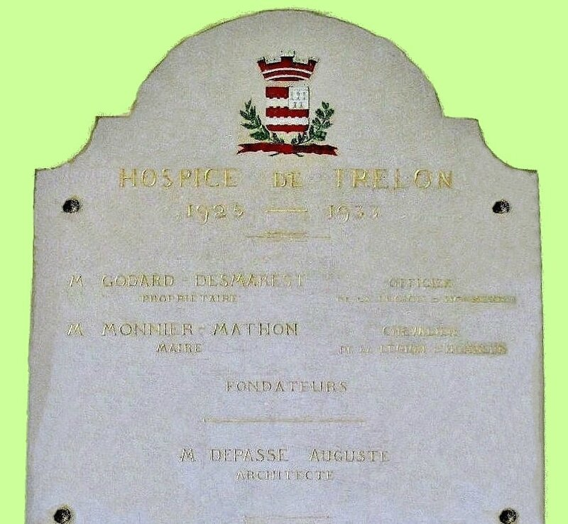TRELON Plaque com