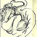 Léda d'après Ingres