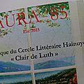 Aura 85, la revue du cercle littéraire hainuyer clair de luth