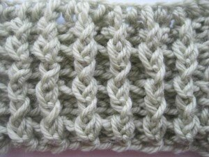 vertical ribbing