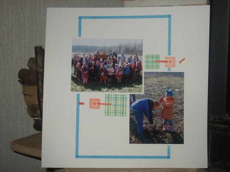 Plantation des arbres (Ecole de La Côte 03.2008)