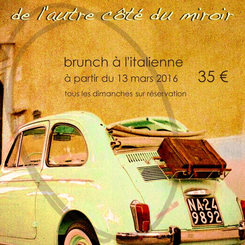 w flyer brunch italien 2016