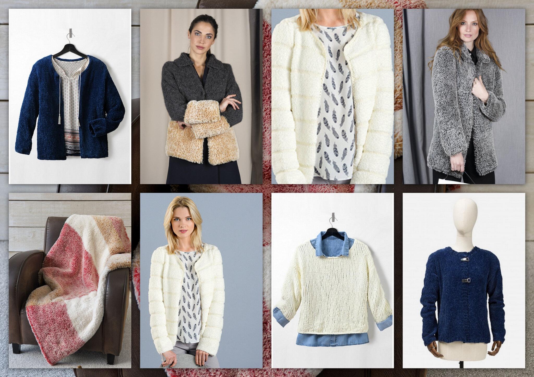 Les laines à la mode cette saison : Le velours et la fourrure!
