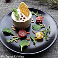 Le petit cheesecake aux saveurs italiennes (basilic & tomates séchées)