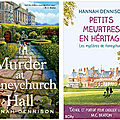 Murder at honeychurch hall, de hannah dennison