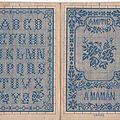 Livret n. alexandre & cie. alphabets variés n°51
