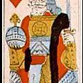 22 - carte à jouer Auvergne début XVIIIe