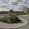 Rond-point à mayenne
