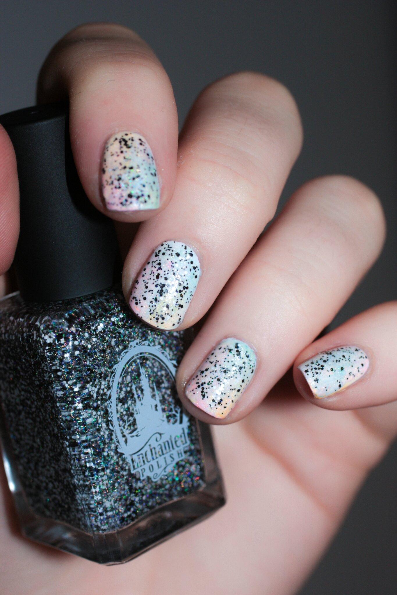 nail art pastel seven nation army enchanted polish-7