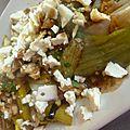 Poireau en salade