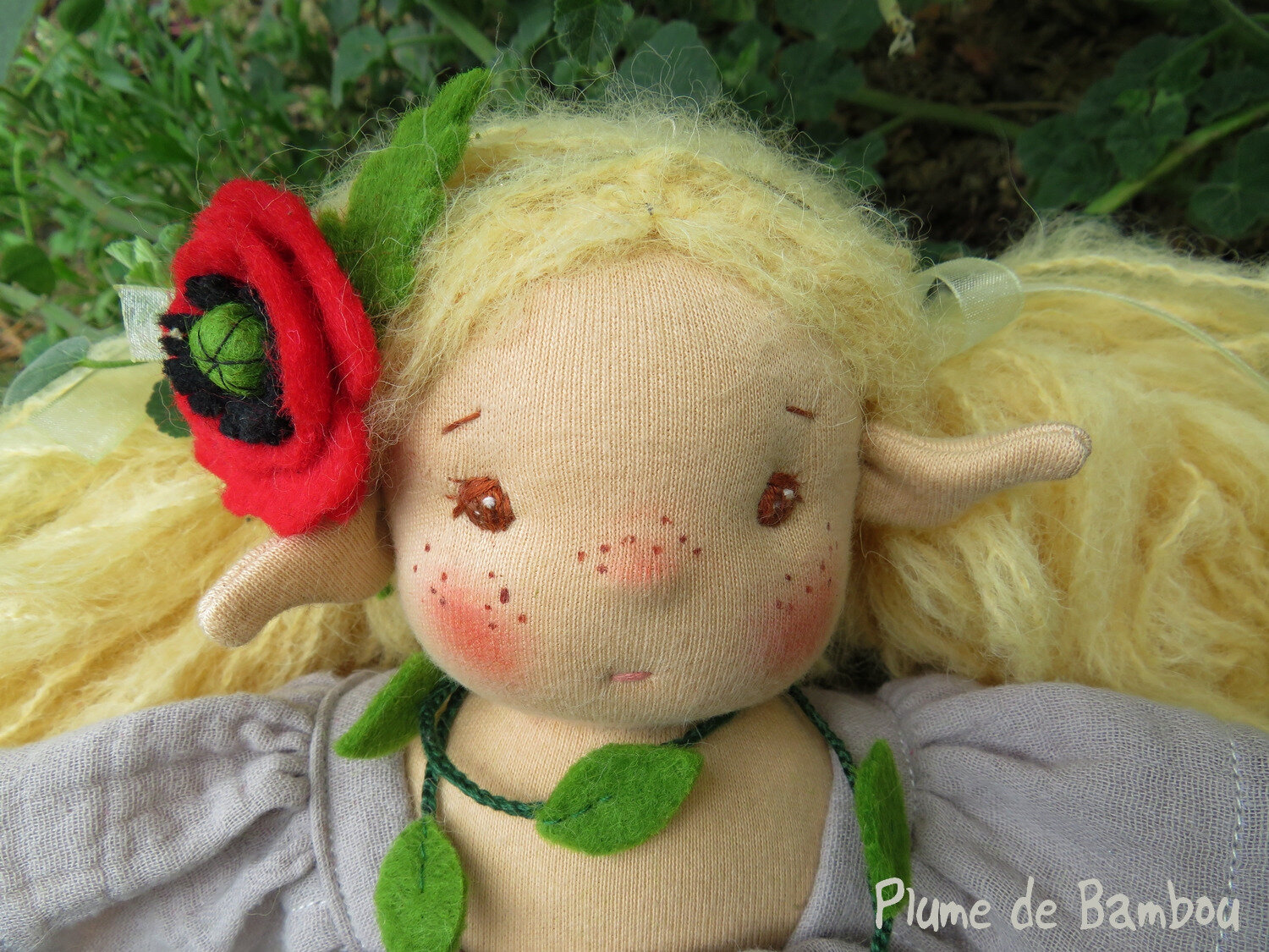 Willow, elfe au coquelicot