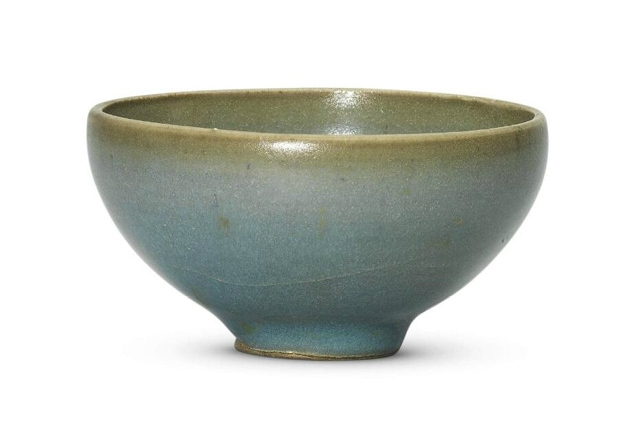 A small Jun blue-glazed bubble bowl, Northern Song-Jin dynasty, 12th century