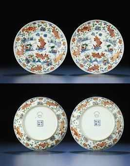 a_rare_pair_of_finely_painted_wucai_fish_dishes_kangxi_period_d5448045h