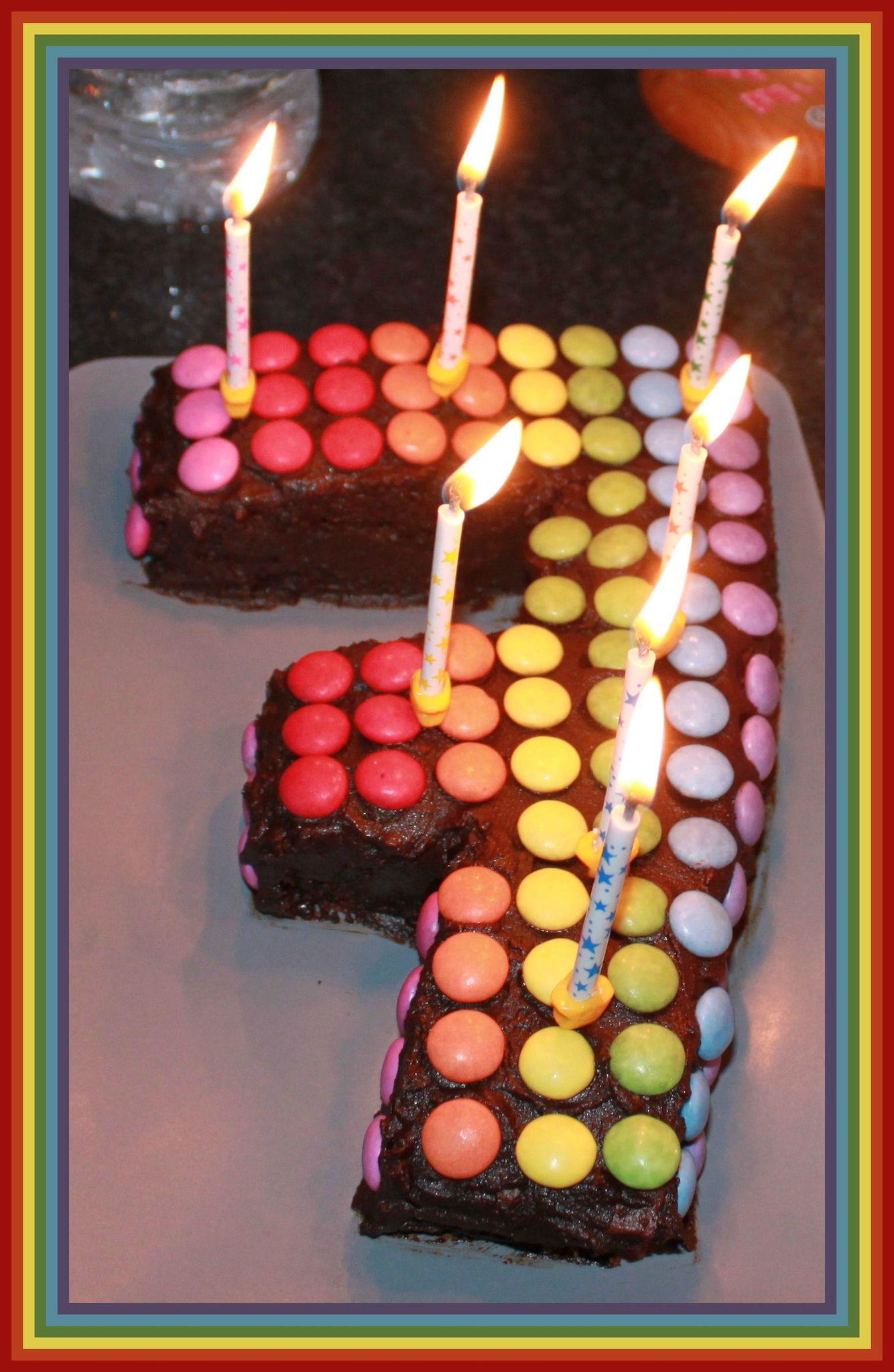 7 avec bougies