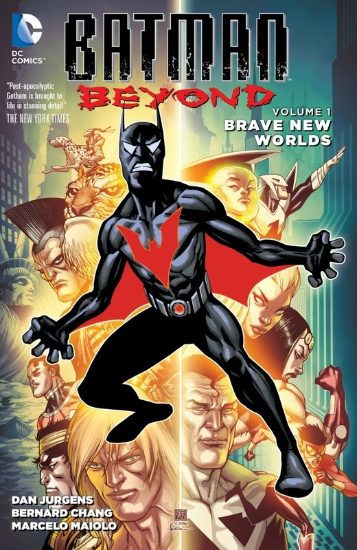 new 52 batman beyond vol 01 brave new world TP