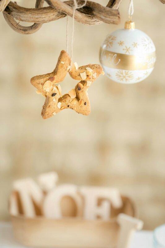 Biscuits aux amandes de Noël