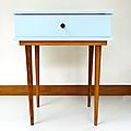Petit mobilier ... chevet vintage * pauline