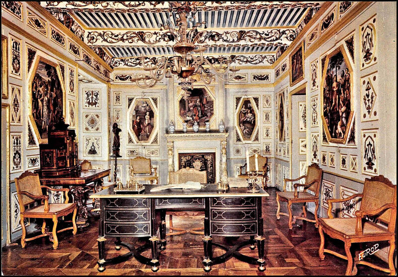 59-48-Château La Baume-Cab Trrav Cesar de Peyre-1601