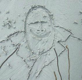 dessin sable