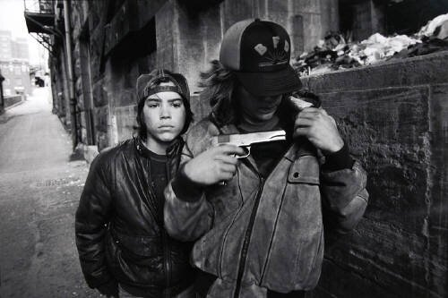 Rat and Mike with a gun Seattle Washington