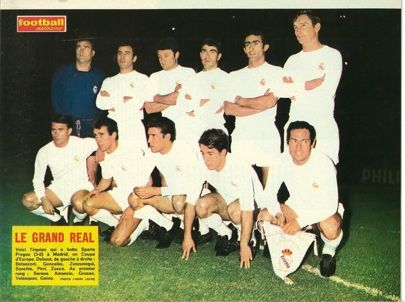 Real-Madrid (1967-1968)
