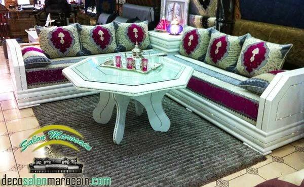 Salon Marocain Moderne Harmonieux