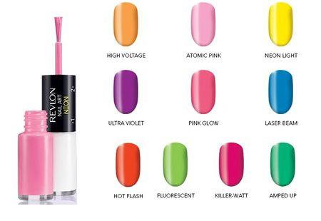 revlon nail art neon 3