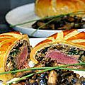 Filet de boeuf wellington. ( saint valentin)