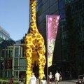 Ceci est une girafe ... en Legos !!