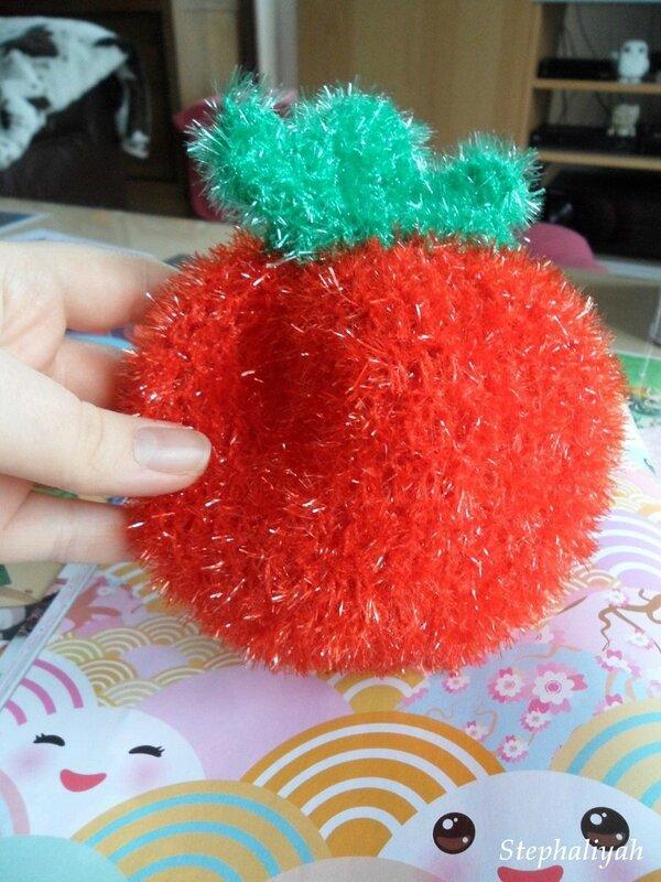 Eponge bubble fraise pour albertine - 2