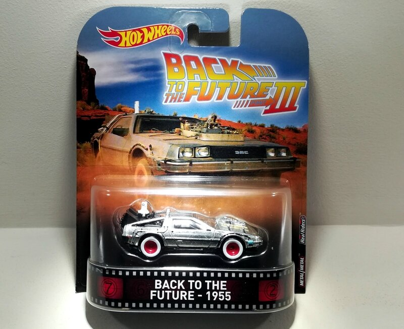 De Lorean DMC-12 Back to the Future 1955 (Hotwheels) 01