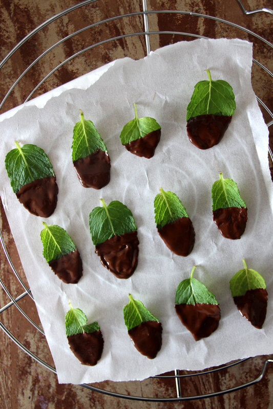 feuilles_menthe_choco_grille