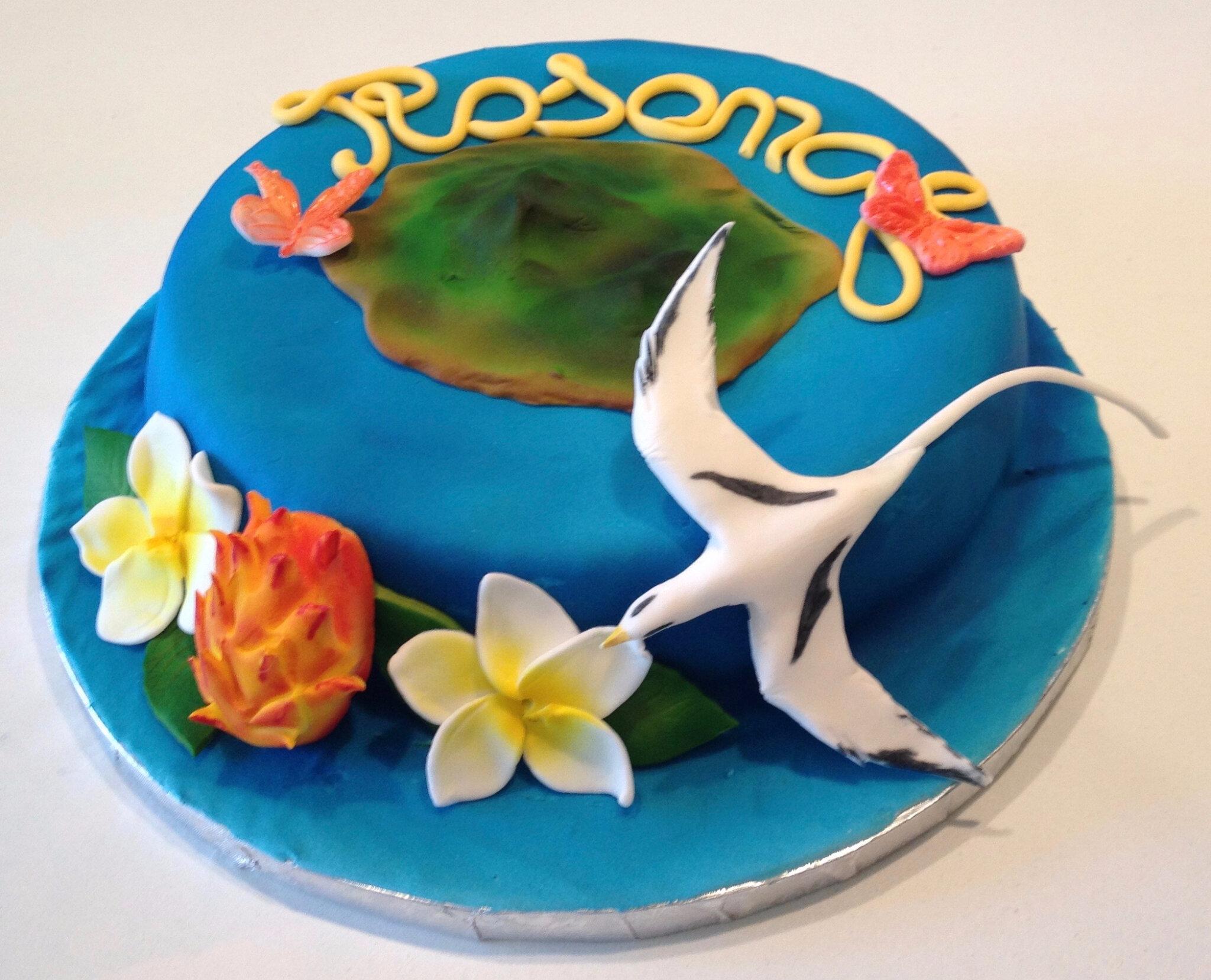 Gâteau Ile de la réunion